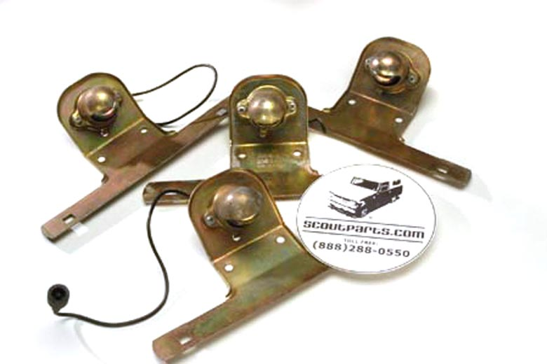 NOS License Plate Bracket with light - Scout 80/800/ trucks