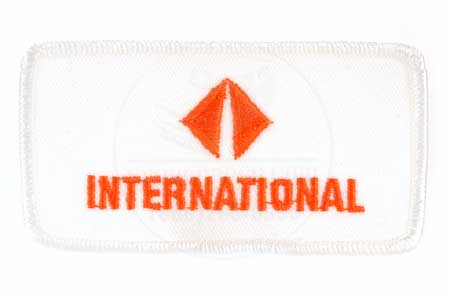 International Badge patch