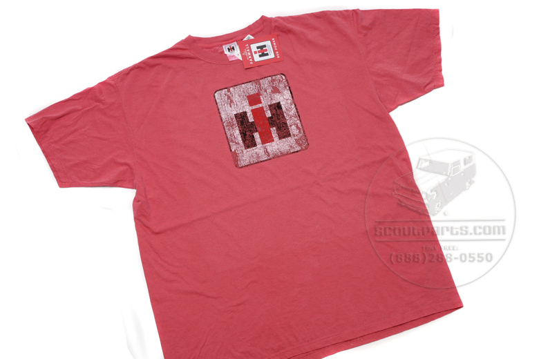 International Harvester (distressed) Logo T-shirts -