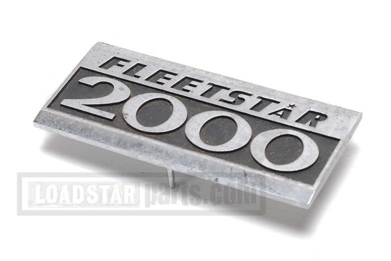 Fleetstar 2000 Chrome Emblem - new old stock
