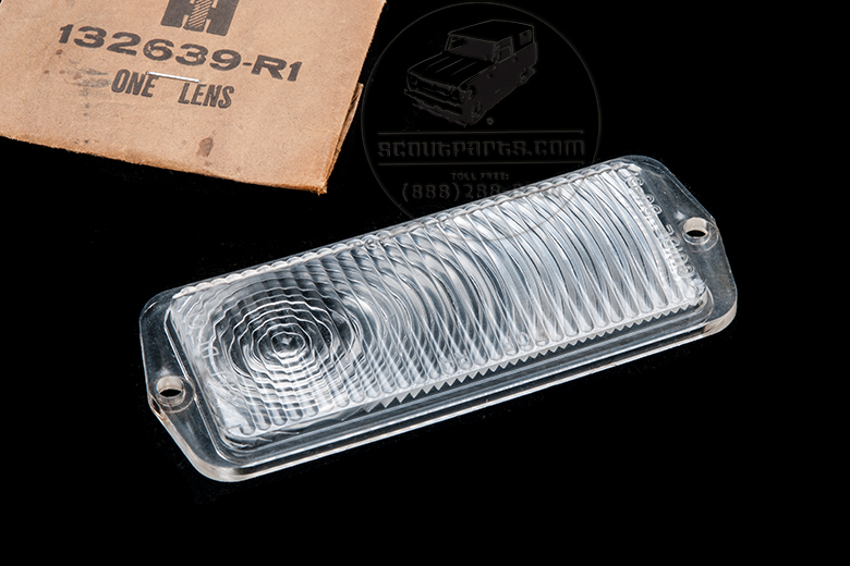 Lens Turn Signal Clear - NEW OLD STOCK