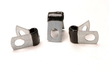 1/4inch   Steel Tubing Clamp for fuel or electrical wiring