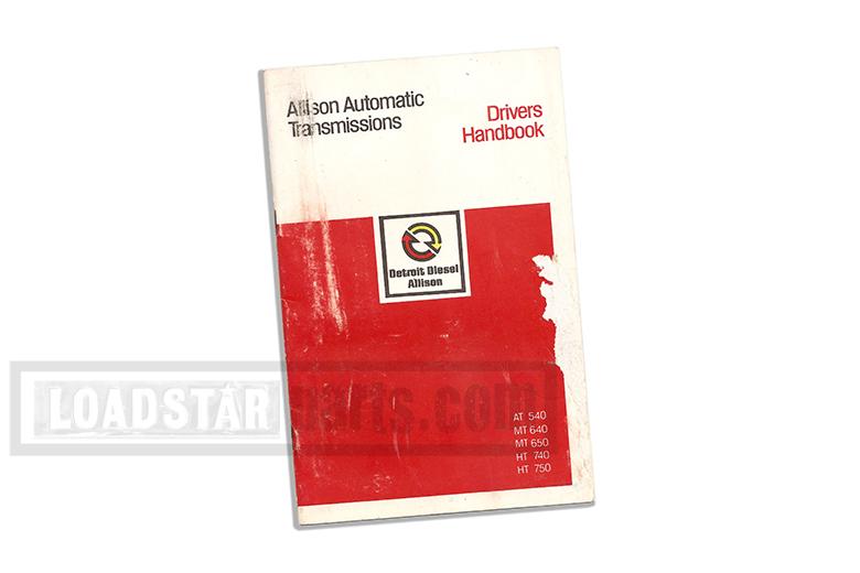 Allison Automatic Transmissions - Drivers Handbook