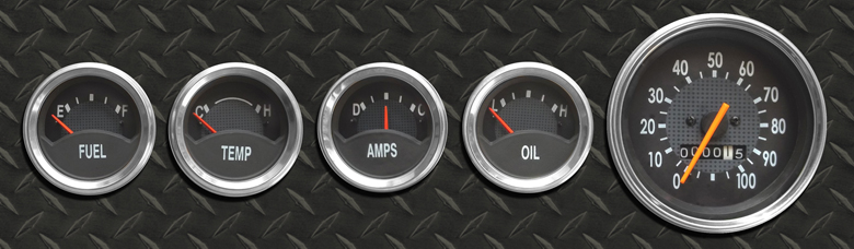 Dashboard Gauge Set Kit- Brand New/Reproduction,  Limited Edition