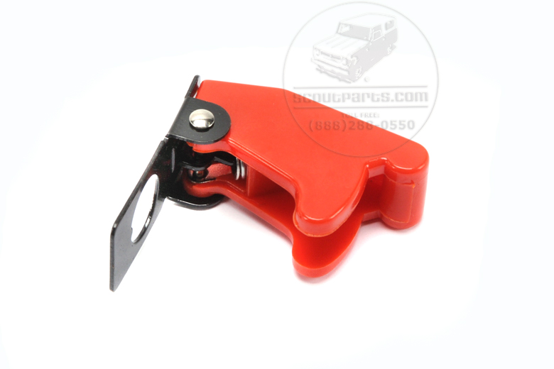 Toggle switch Safety Cover - Red