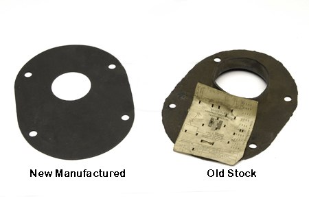 Steering Column To Firewall Seal With Round Corners - Travelall 61-75