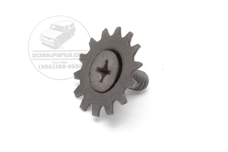 Door latch retainer screws, NEW OLD STOCK