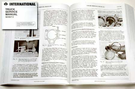 Service Manual  International Loadstar 1978-1980