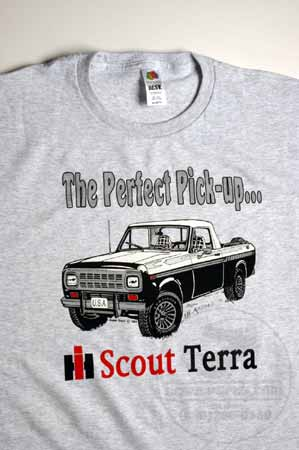 IH Scout Terra The Perfect Pick-up T-Shirt
