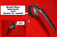 This is new and improved. So much easier to install that you will look forward to taking apart your doors. You will love it!