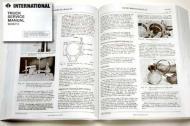 1957 to 1963 International Trucks A, B, C Series,  Light & Med Duty Service Manual Set (2 volume set).   1580 pages, reprint.